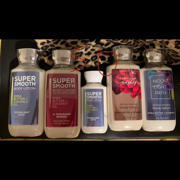 Baths and body works lotion